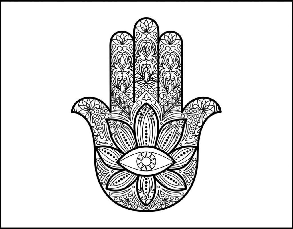 Diocesi Torino: la mano di hamsa, uno dei simboli della fede musulmana